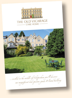 The Old Vicarage Care Home Chippenham brochure